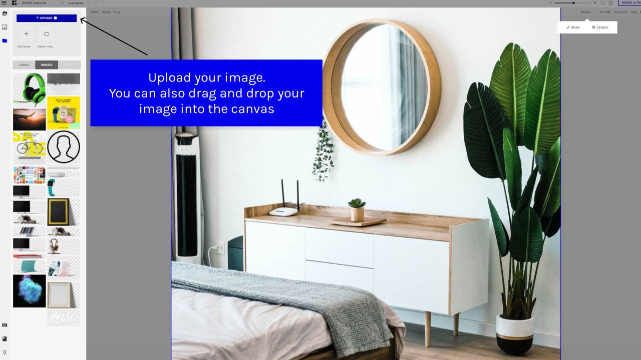 Simple guide on how to use real estate video templates on OFFEO